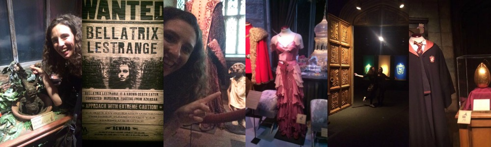Collage Harry Potter exhibition